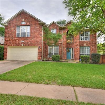 Round Rock Single Family Home For Sale: 3714 Newland Dr