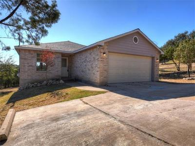 Lago Vista Single Family Home Pending - Taking Backups: 21401 Stampede Trl