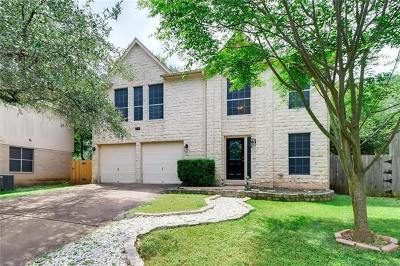 Cedar Park Single Family Home For Sale: 1814 Beechnut Cv
