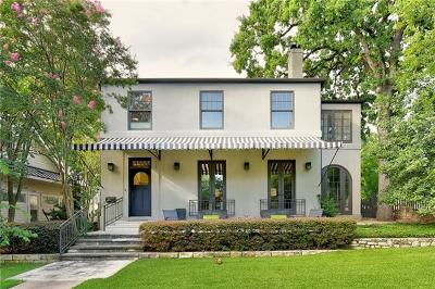 Austin Single Family Home For Sale: 200 W 33rd St