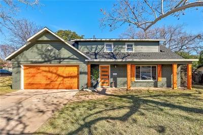 Austin Single Family Home Pending - Taking Backups: 3106 Carlisle Dr