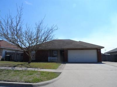 Killeen Single Family Home For Sale: 3408 Warfield Dr