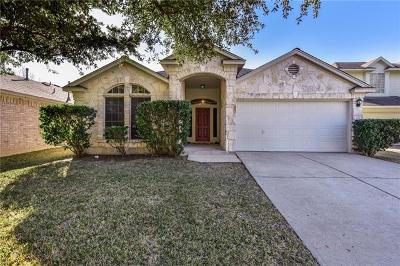 Round Rock Single Family Home Pending - Taking Backups: 709 Johnny Bench Dr