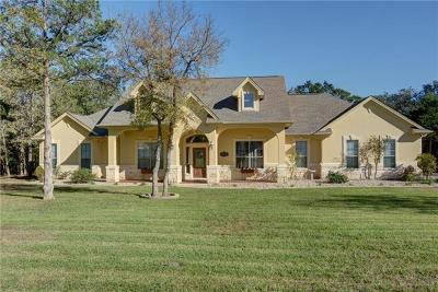 Bastrop County Single Family Home For Sale: 187 Pioneer Psge