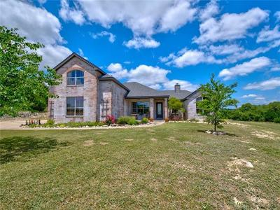 Marble Falls Single Family Home For Sale: 29706 Montana Ridge Pass