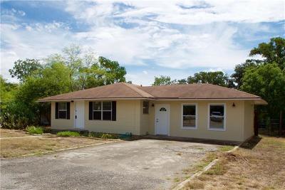 San Marcos Single Family Home Pending - Taking Backups: 1317 Progress St