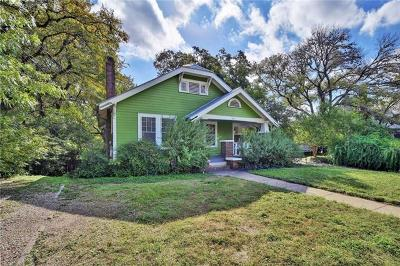 Austin Single Family Home For Sale: 613 W Lynn St