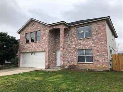Round Rock Single Family Home For Sale: 1369 Lakeside Loop
