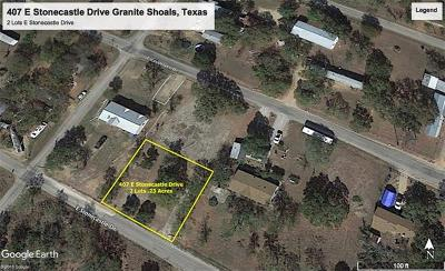 Granite Shoals TX Residential Lots & Land For Sale: $15,000