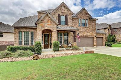 Round Rock Single Family Home For Sale: 1915 Mulligan Dr