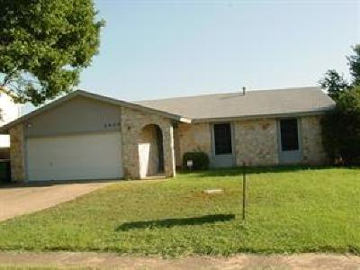 Round Rock Single Family Home For Sale: 1404 London Rd