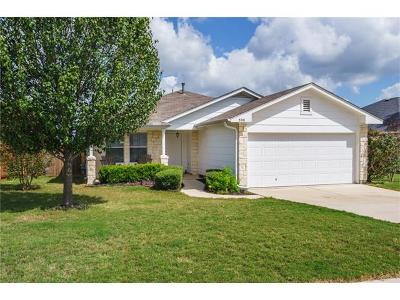 Kyle Single Family Home For Sale: 398 Stennis