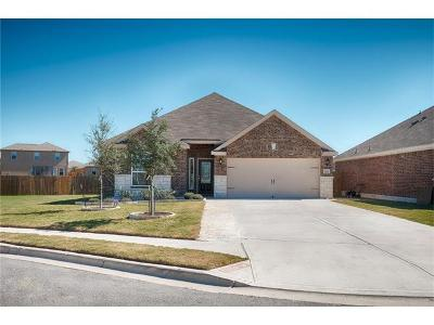 Manor Single Family Home For Sale: 13229 Cabinet Dr