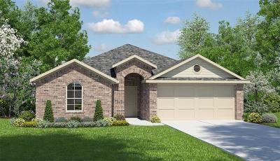 Manor Single Family Home For Sale: 19308 Great Falls Dr