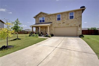 Hutto Single Family Home Pending - Taking Backups: 115 Esparza Ct