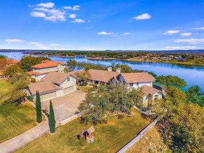 Spicewood Single Family Home For Sale: 3022 Cliff Overlook Dr