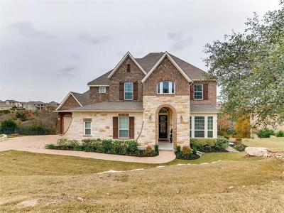 Leander Single Family Home For Sale: 2412 First Vw