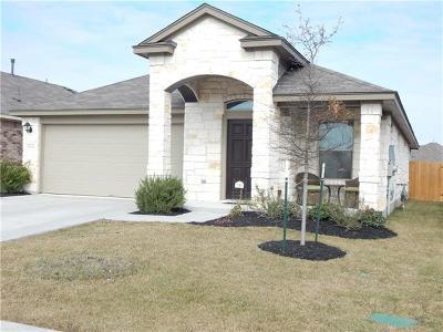 Pflugerville Single Family Home For Sale: 18000 Moreto Loop