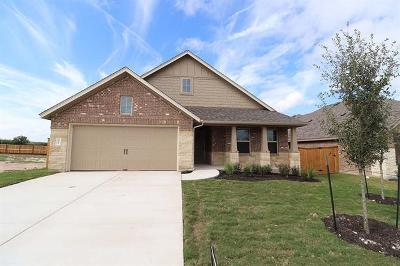 Round Rock Single Family Home For Sale: 2917 Diego Dr