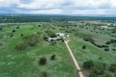 Burnet County, Lampasas County, Bell County, Williamson County, llano, Blanco County, Mills County, Hamilton County, San Saba County, Coryell County Farm For Sale: 2633 County Road 120
