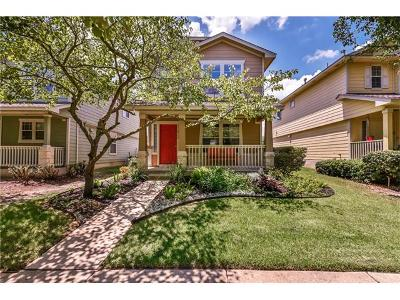 Pflugerville Single Family Home Pending - Taking Backups: 17820 Great Basin Ave
