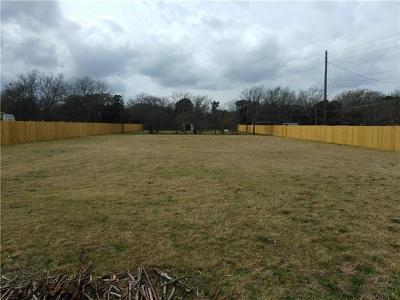 Cedar Park Residential Lots & Land For Sale: 109 N Mustang Ave