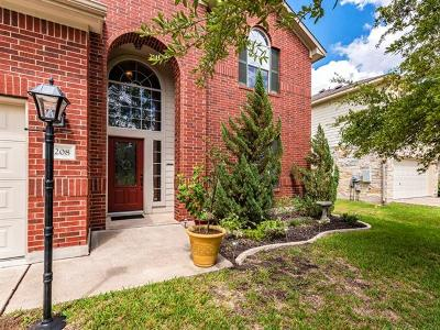 Pflugerville Single Family Home For Sale: 3208 Taylor Falls Dr