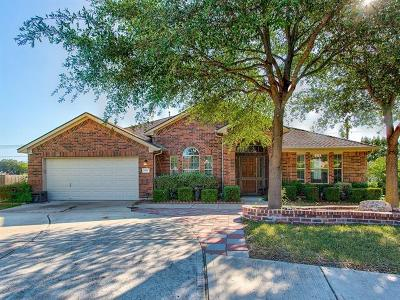 Leander Single Family Home Active Contingent: 901 Applerock