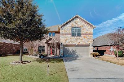 Hutto Single Family Home For Sale: 1007 N Ash Cv