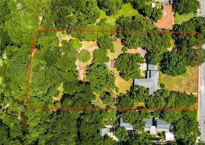 Residential Lots & Land For Sale: 5312 Shoal Creek Blvd
