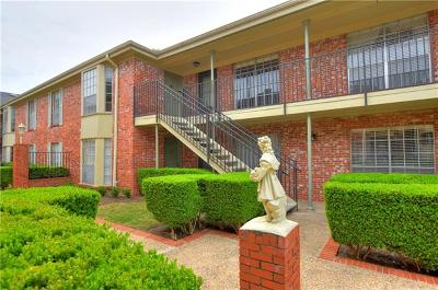 Austin Condo/Townhouse For Sale: 7920 Rockwood Ln #236