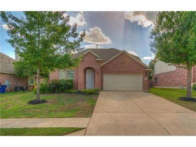 Leander Single Family Home For Sale: 2417 Elkhorn Ranch Rd