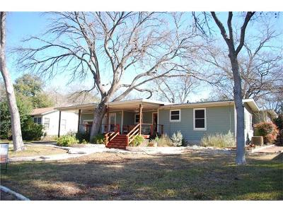 Austin Single Family Home For Sale: 5905 Bull Creek Rd