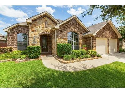 Pflugerville Single Family Home For Sale: 20917 Meridian Blvd