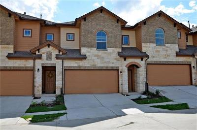 Round Rock TX Condo/Townhouse For Sale: $205,000