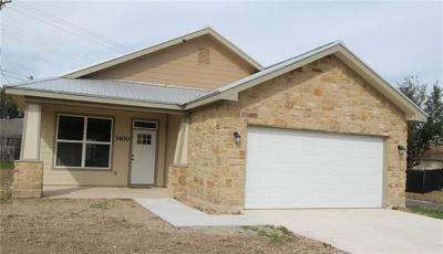 Taylor Single Family Home For Sale: 3400 Crystal Cir