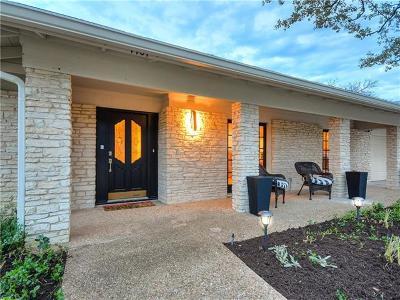 Austin Single Family Home Active Contingent: 7707 Mesa Dr