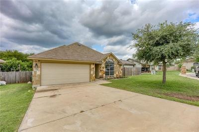 Burnet County Single Family Home For Sale: 108 Gregory Cv