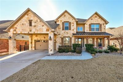 Round Rock Single Family Home For Sale: 2016 Westvalley Pl