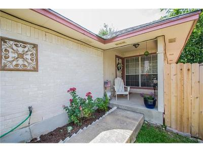 Round Rock Single Family Home Pending - Taking Backups: 1625 Parkfield Cir