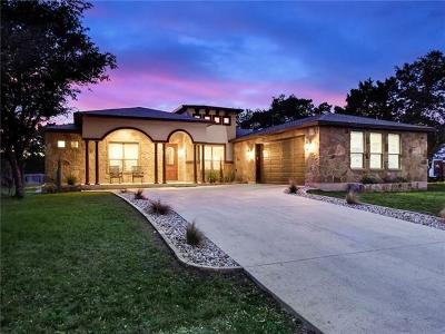 Lago Vista Single Family Home For Sale: 21442 Lakefront Dr