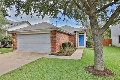 Round Rock Single Family Home For Sale: 17503 Salt Flat Ln