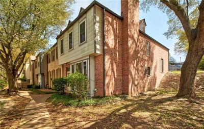 Austin TX Condo/Townhouse For Sale: $350,000