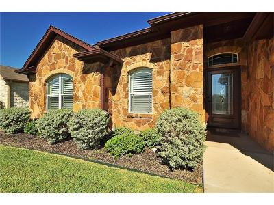Georgetown Single Family Home For Sale: 106 Valley Oaks Loop