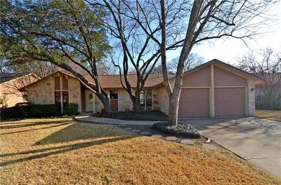 Round Rock Single Family Home For Sale: 1005 Lakewood Ln