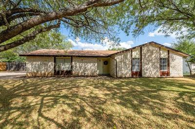 Leander Single Family Home For Sale: 1808 S West Dr