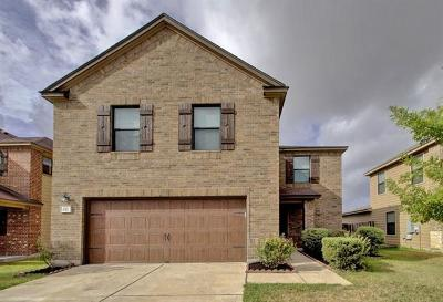 Pflugerville Single Family Home For Sale: 837 Bethel Way