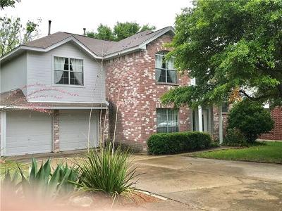 Round Rock Rental For Rent: 1605 Copperhead Cv