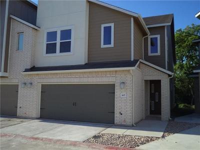 Austin Condo/Townhouse For Sale: 307 Bridgeford Dr