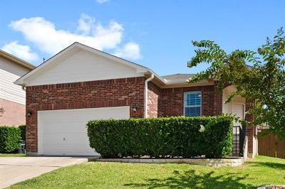 Round Rock Single Family Home Pending - Taking Backups: 3715 Hawk View St